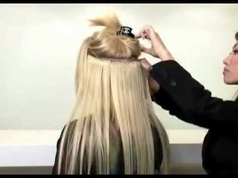 How to put on extend it clip in hair extensions youtube pmusecretfo Image collections