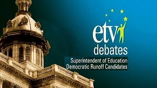 Superintendent of Education, Democrat Runoff Debate