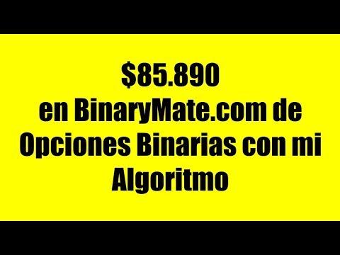 Formula en opciones binarias