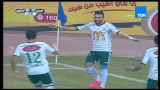 بالفيديو..«المصري» يتقدم على المقاولون في الشوط الأول بهدف «كابوريا»
