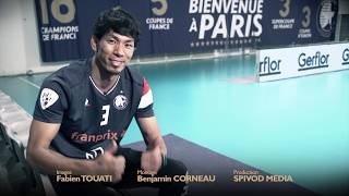 Premiers échanges avec Tatsuya Fukuzawa au Paris Volley