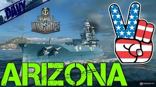 World of Warships Gameplay ITA - ARIZONA - KRAKEN IN ARRIVO?