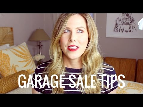 How To Have A Successful Garage Sale | Kathryn Tamblyn