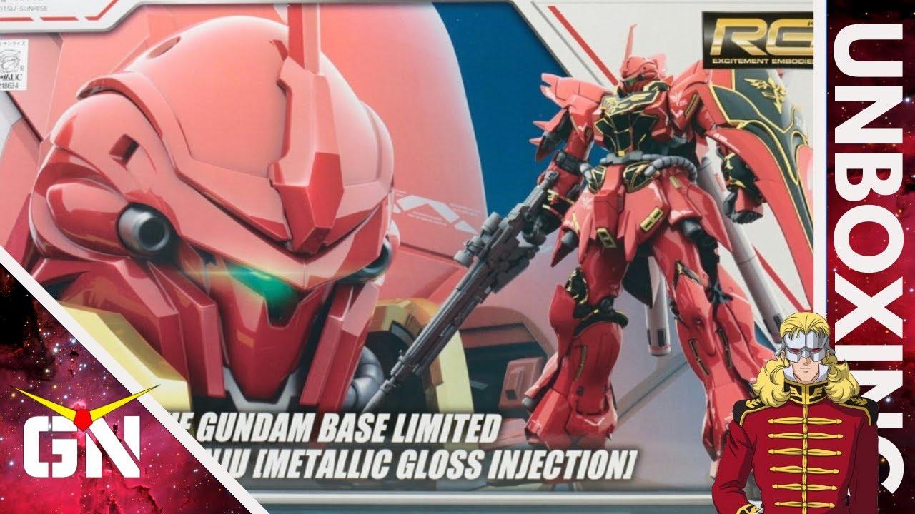 RG 1/144 Sinanju Metallic Gloss Injection GBT | UNBOXING