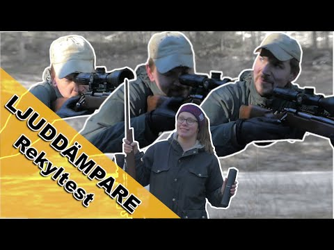 Ljuddämpare Rekyltest | Jakt Test | Hunting Family