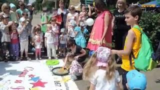 День защиты детей 1 июня Парк Юность.. шоу мыльных пузырей