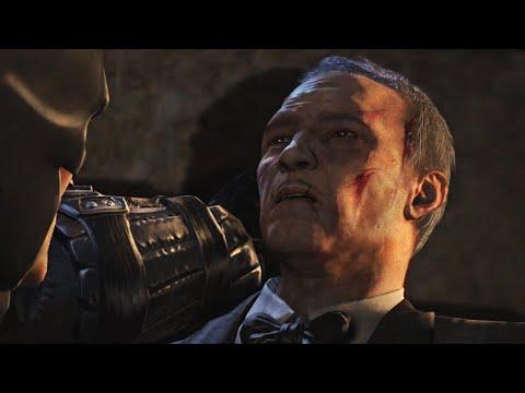Batman Arkham Origins - Alfred Dies? / Bane Attacks Alfred |