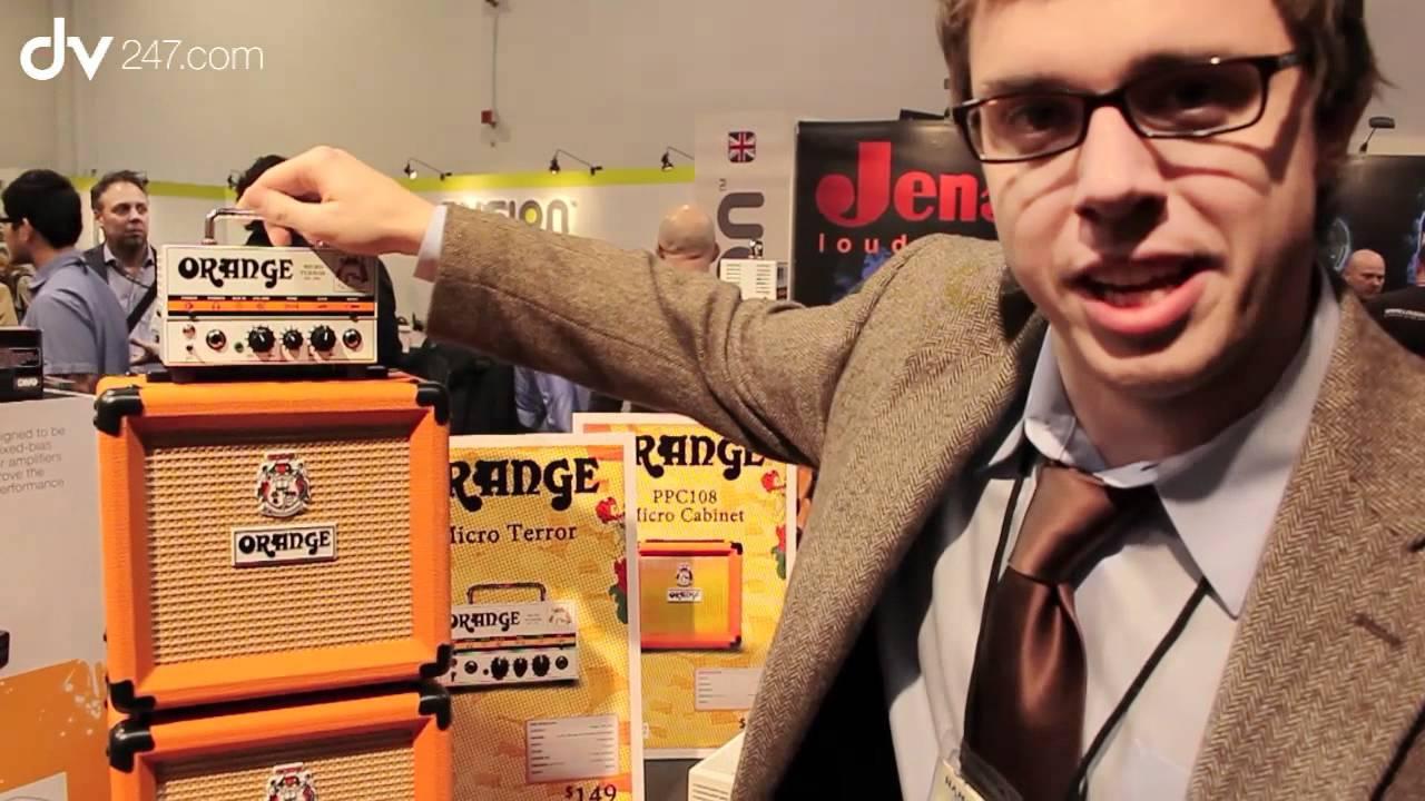 Orange Amplifiers Micro Terror NAMM 2012 - YouTube