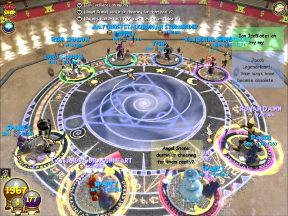 Wizard101 - KBB PvP 4v4 - (6/25/11 & 7/3/11) Perfect Catch Creates Counter  vs  Tempest Spammers