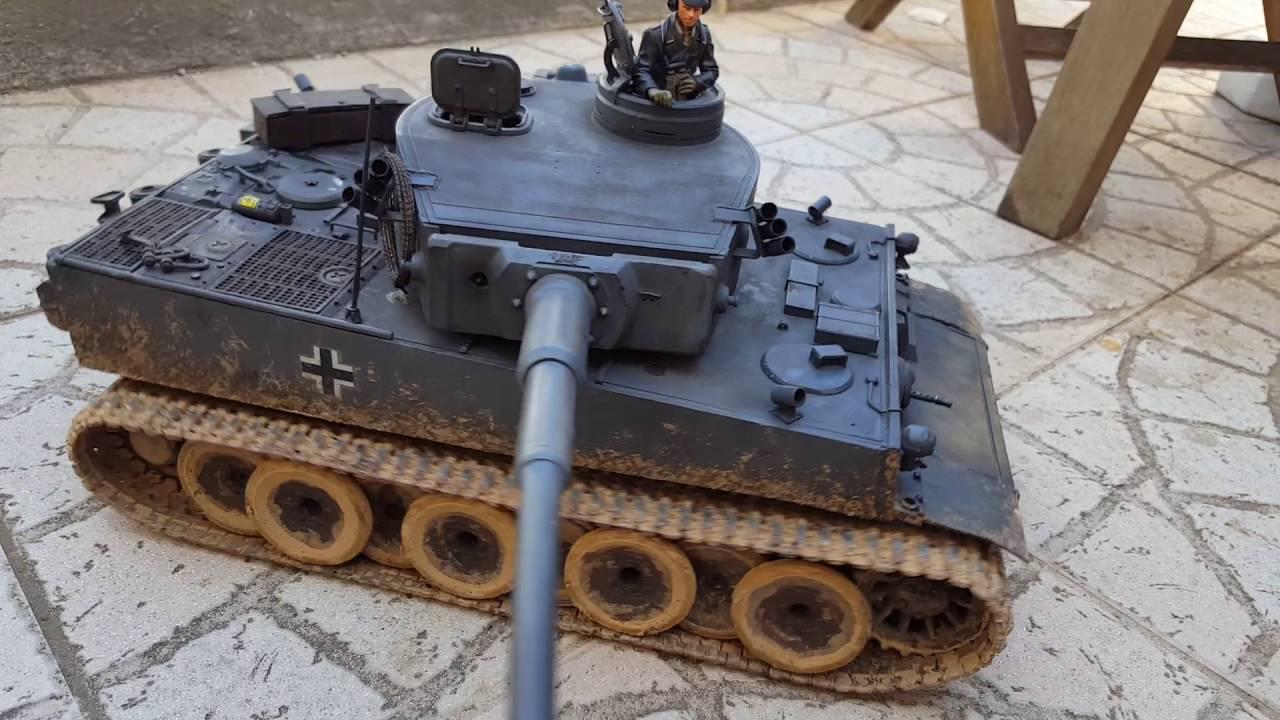 tiger 1 num ro 121 2eme bataillons de char lourd tamiya 1. Black Bedroom Furniture Sets. Home Design Ideas