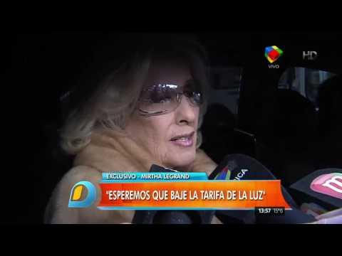 Mirtha Legrand prometió hablar con Macri por el aumento de tarifas
