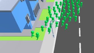 Crowd City 2 // Gameplay