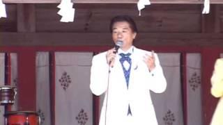 埼玉県のある神社で行われた奉納歌謡ショーに出演した三浦京子&ハニー...
