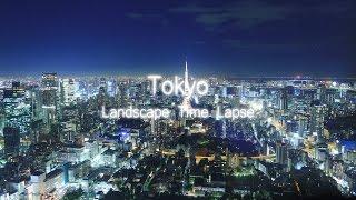 Landscape TimeLapse #03 Tokyo Hyperlapse 4K
