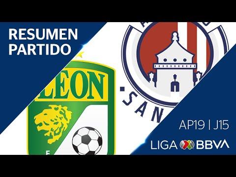 Resumen Y Goles | León Vs Atlético San Luis | Jornada 15 - Apertura 2019 | Liga BBVA MX