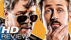 THE NICE GUYS Kritik Review & Trailer Deutsch German (2016)