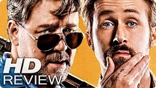 THE NICE GUYS Kritik Review & Trailer Deutsch German (2016)