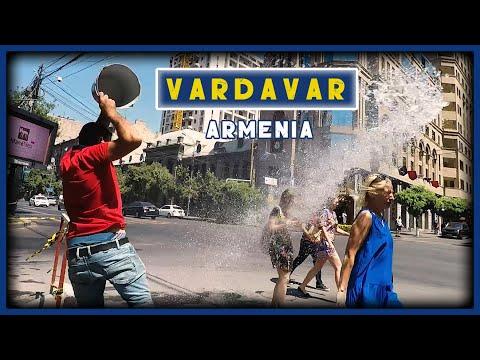 Վարդավառը Երևանում 2019 /// Vardavar In Yerevan /// Вардавар в Ереване