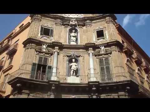 Palermo - La piazza dei Quattro Canti o anche Villena