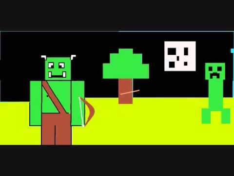 Troll Alstar and Creeper animation