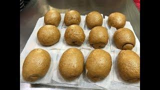 料理影片#95:用純手工製作的黑糖來完成的黑糖饅頭