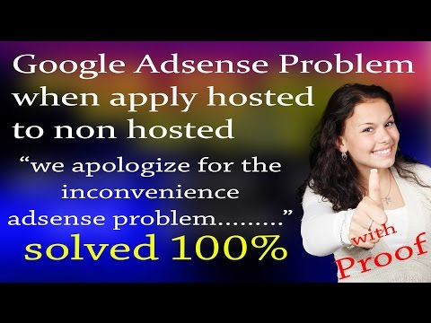 we apologize for the inconvenience adsense problem solved 100%