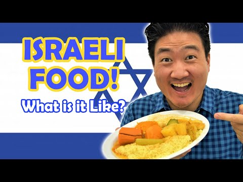 Trying ISRAELI FOOD For The First Time (What Is Israeli Cuisine Like?)