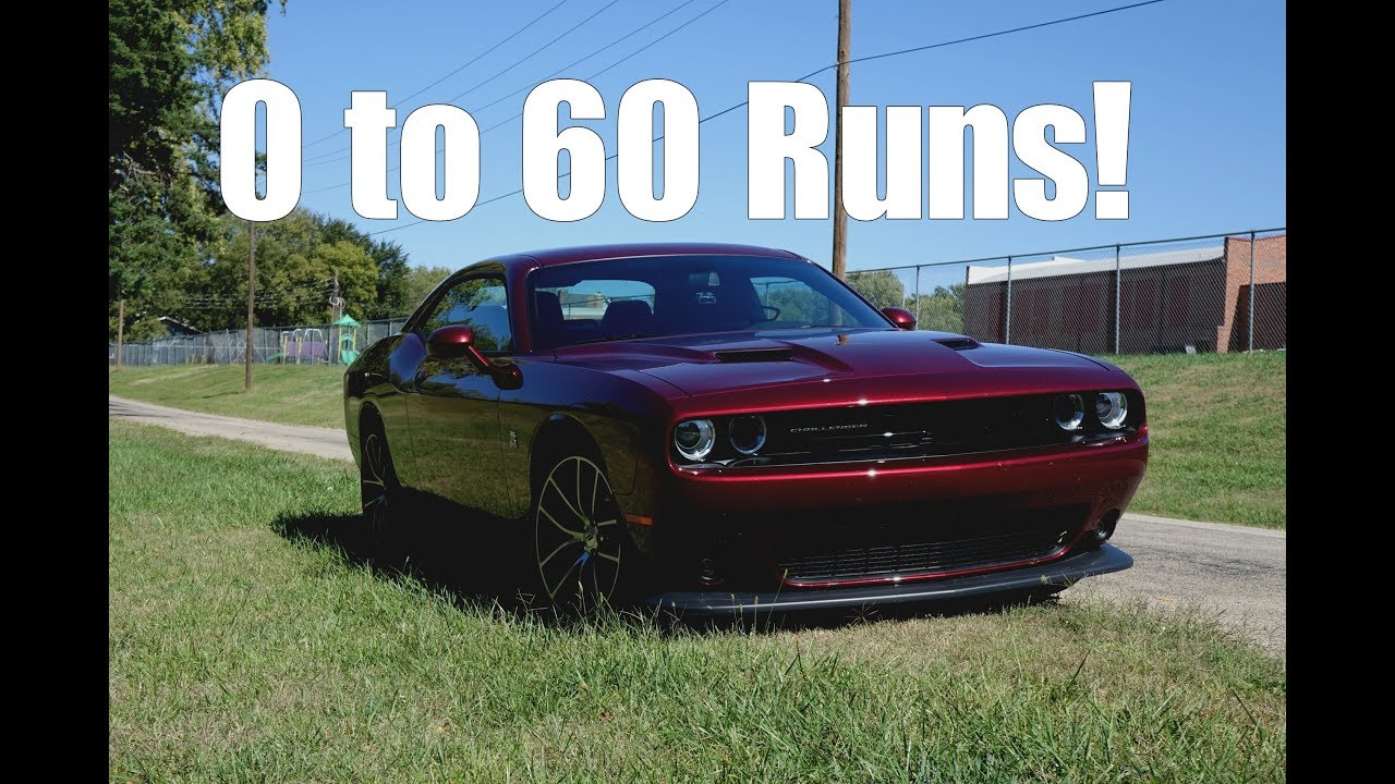 0 60 runs in the 2018 challenger scat pack i need improvement youtube rh youtube com