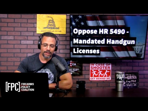 Oppose HR 5490 - Mandated Handgun Licenses