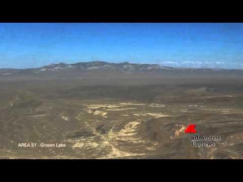 Un drone ha filmato l'Area 51...