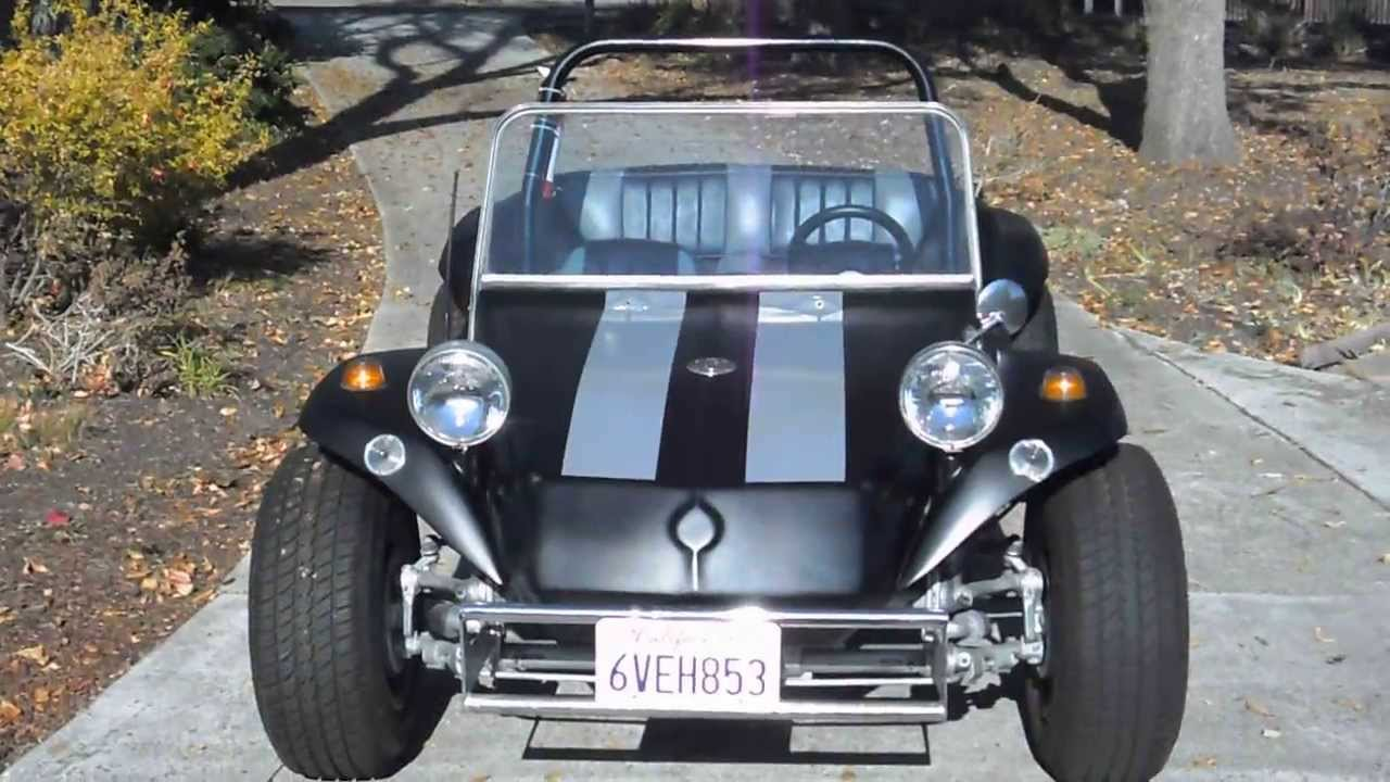 Vw Dune Buggy >> 1969 Volkswagen Dune Buggy Meyers Manx Style - YouTube