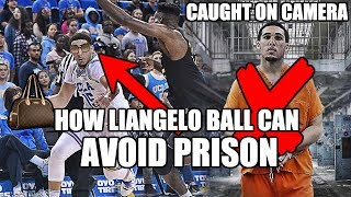 How LiAngelo Ball Can AVOID Chinese Prison! Caught on Surveillance!