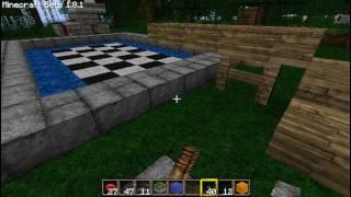 Уроки по Minecraft: Как сделать автоматизированный бассейн(Не желаю больше откладывать данный материал