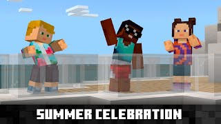 Minecraft Marketplace Summer Celebration