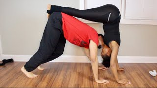 Couples Yoga Challenge with my Fiance/ Boyfriend