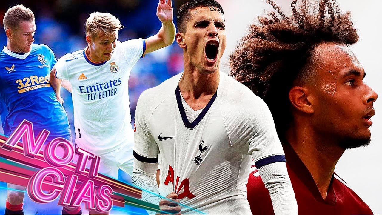 CAE el MADRID en amistoso   INCREÍBLE falla, peor REACCIÓN   Listo TRUEQUE Tottenham-Sevilla