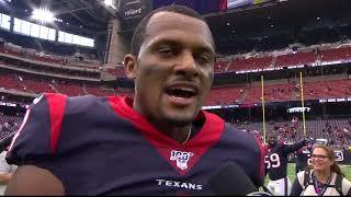 Deshaun Watson Postgame Interview - Falcons @ Texans
