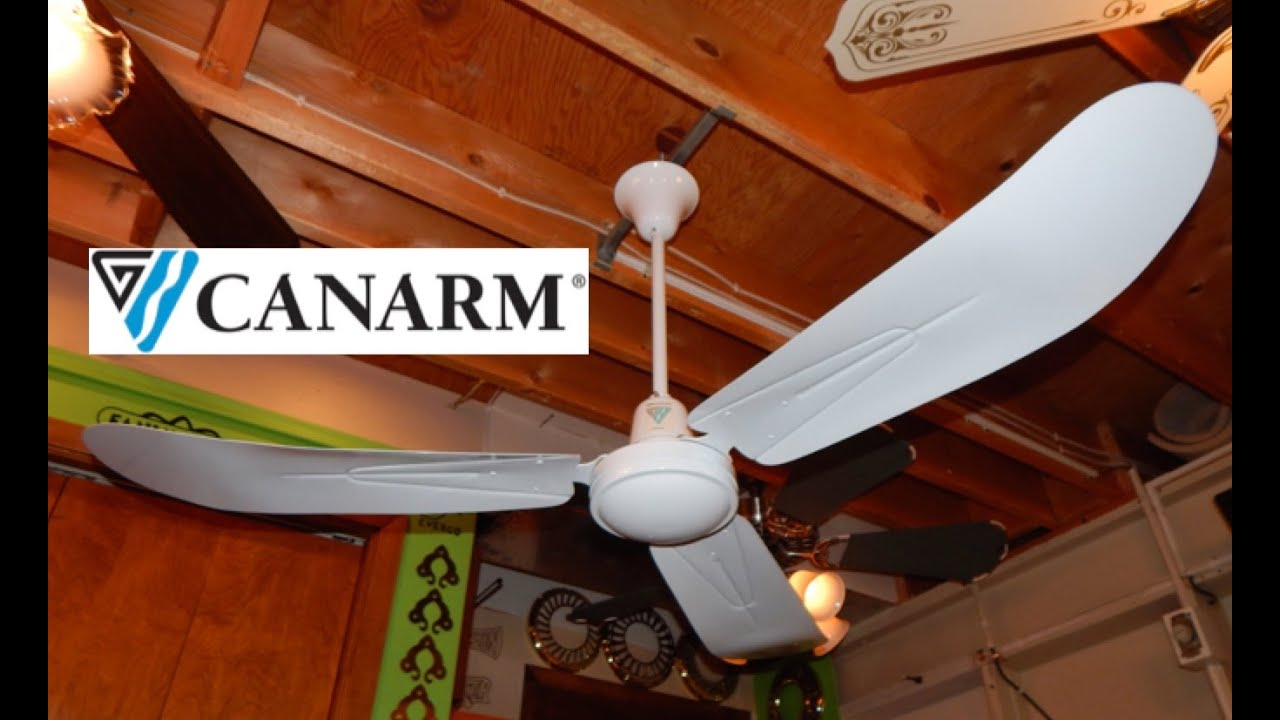Canarm Pleasantaire Cp56t Industrial Ceiling Fan 2 Of 2