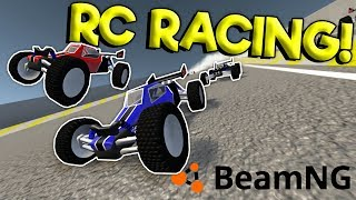 EXTREME RC CAR RACING & CRASHES! - BeamNG Drive Gameplay & Crashes - RC Car Chase