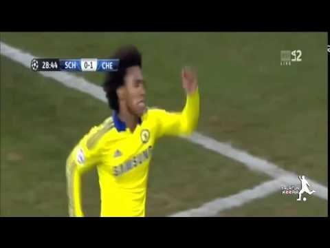 Chelsea vs Schalke 0-5 All Goals and Highlights 25-11-2014 HD