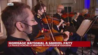 Hommage national à Samuel Paty : la cérémonie s'achève sur une symphonie de Mozart