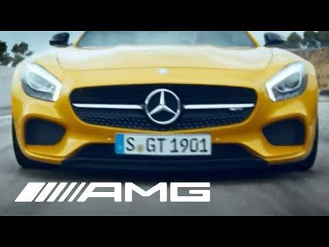 El Mercedes AMG GT supera al Porsche 911... en un anuncio