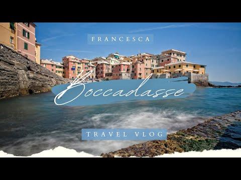 Travel Vlog // Boccadasse, Genova