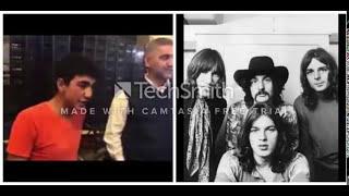 Pink Floyd guitar solo with Dengbej