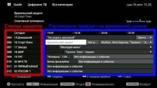Настройка цифрового ТВ в телевизорах BRAVIA