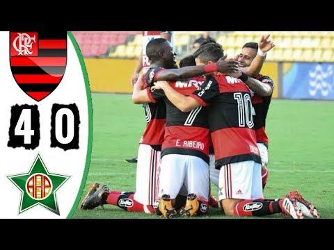 Flamengo 4 x