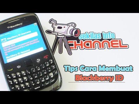 Video Tips Cara Daftar Blackberry ID (HD)