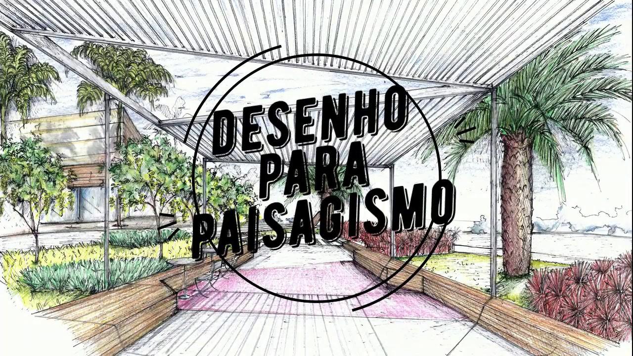 Curso Online Desenho Para Paisagismo Youtube
