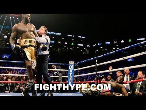 WATCH: Deontay Wilder destroys Bermane Stiverne with first-round knockout