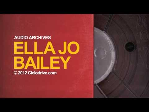 Audio Archives: Ella Jo Bailey